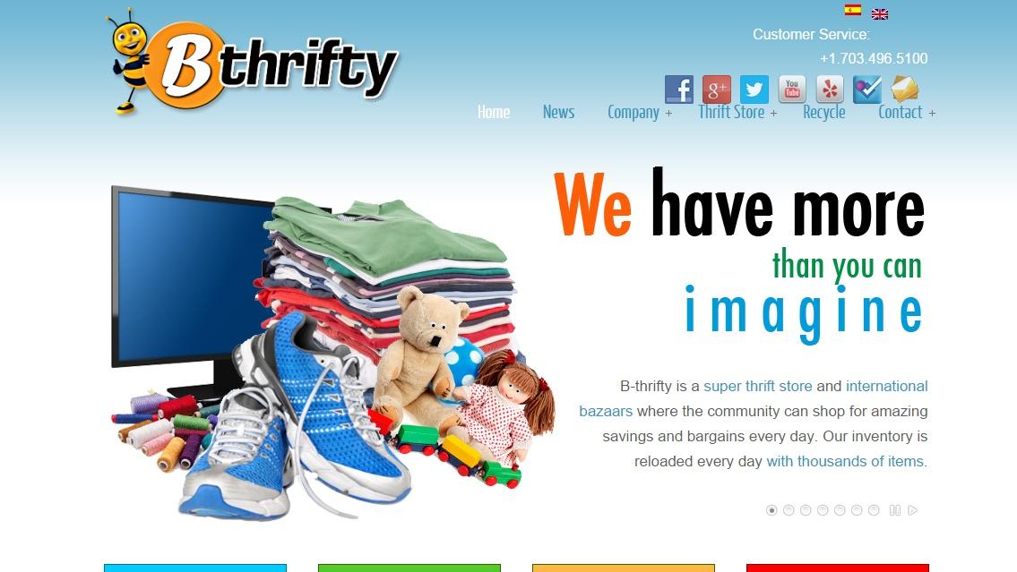 B-thrifty la Super Tienda de Segunda