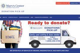 Marys Center Donation Center