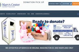 Marys Center Donation Center