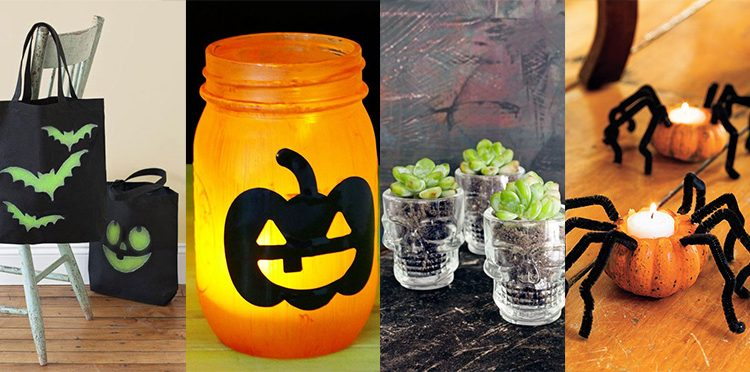 12 DIY Halloween Crafts